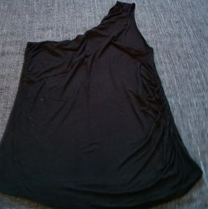 GAP One-Shoulder Tank with Ruching